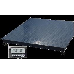 Cantar industrial cu platforma Adpos SX 3000Kg, 1500x1500, RS232, IP65, verificat metrologic