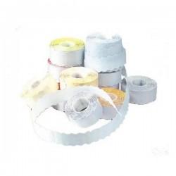 Etichete de pret 26x12 mm, albe, 1500 etich/rola