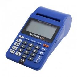 Casa de marcat Adpos S25 (Tremol S25), GPRS, Bluetooth, cu acumulator, avizata, albastră