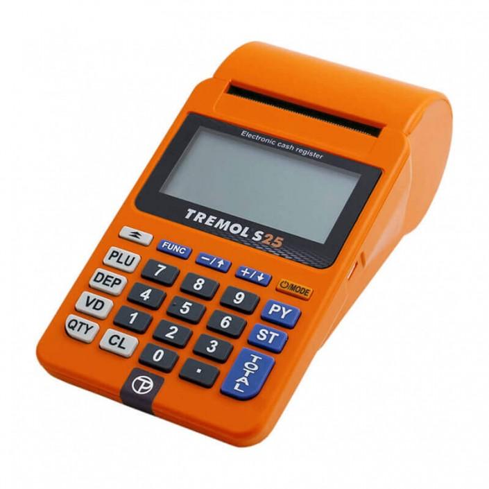 Casa de marcat Adpos S25 (Tremol S25), Wi-Fi, cu acumulator, avizata, portocalie