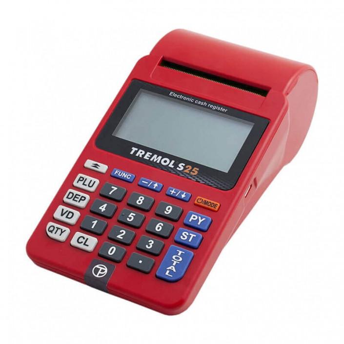 Casa de marcat Adpos S25 (Tremol S25), Wi-Fi, cu acumulator, avizata, roșie