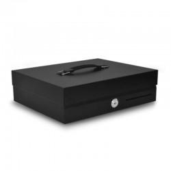 Sertar portabil de bani CB-300 metalic, negru