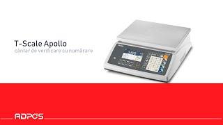 Prezentare Scurta Cantar T-Scale AW20 Apollo